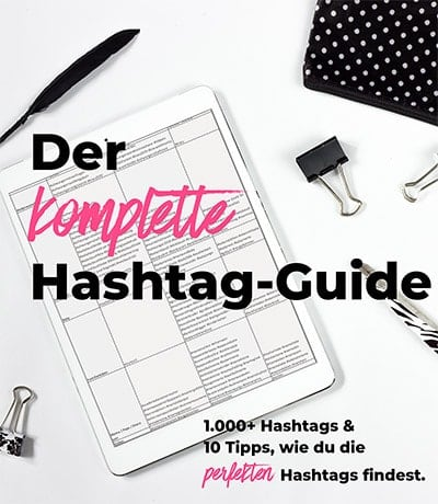 Hashtag-Guide mit 1.000+ Hashtags