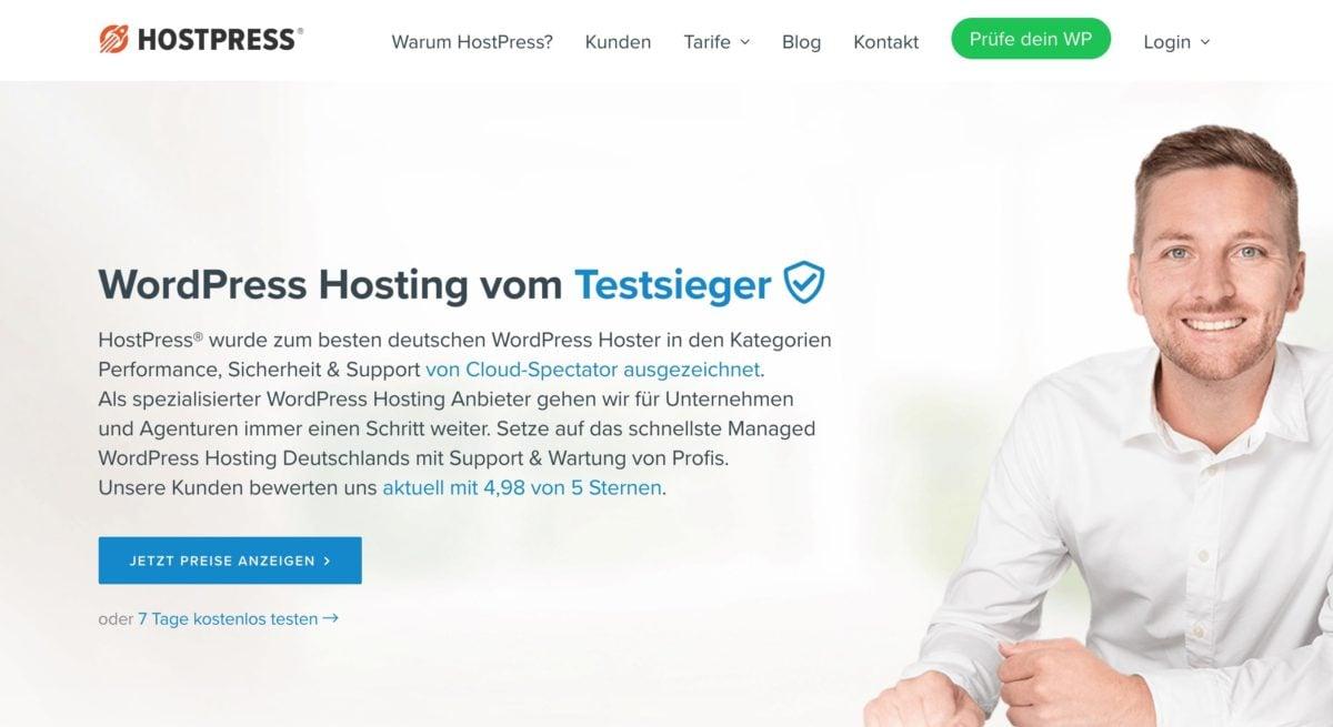 HostPress Webhosting