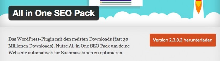 All in One SEO Pack: WordPress Plugin von Michael Torbert