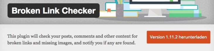 Broken Link Checker Plugin WordPress