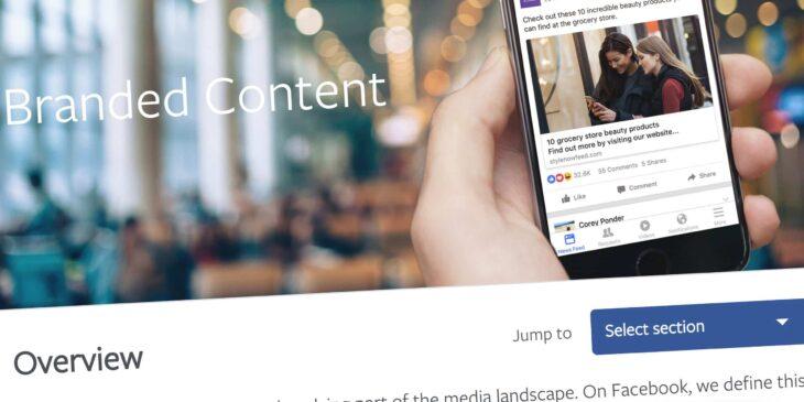 Facebook Branded Content