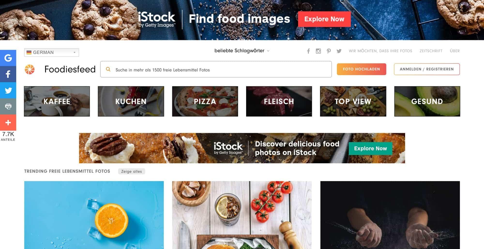 Foodiesfeed bietet Bilder rund um das Thema Essen