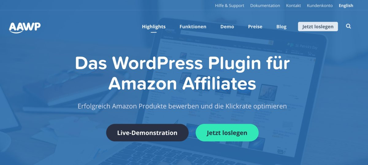 AAWP (Amazon Affilliate WordPress-Plugin)