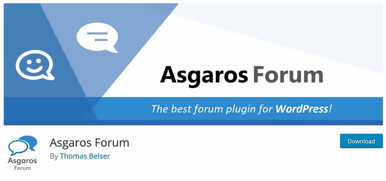 Asgaros Forum ist ein echter Geheimtipp und den Foren-Plugins
