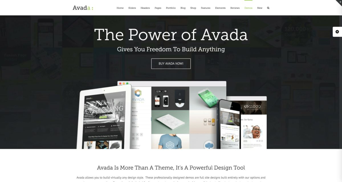 Avada WordPress Multi-Purpose Theme