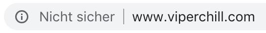 Google Chrome brandmarkt Seiten ohne HTTPs als nicht sicher