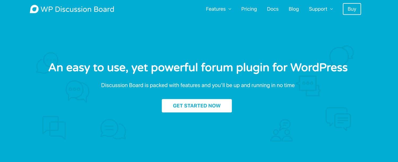 Discussion Board ist ein simples und modernes Forum Plugin für WordPress, das sich mit nur einem Klick installieren lässt