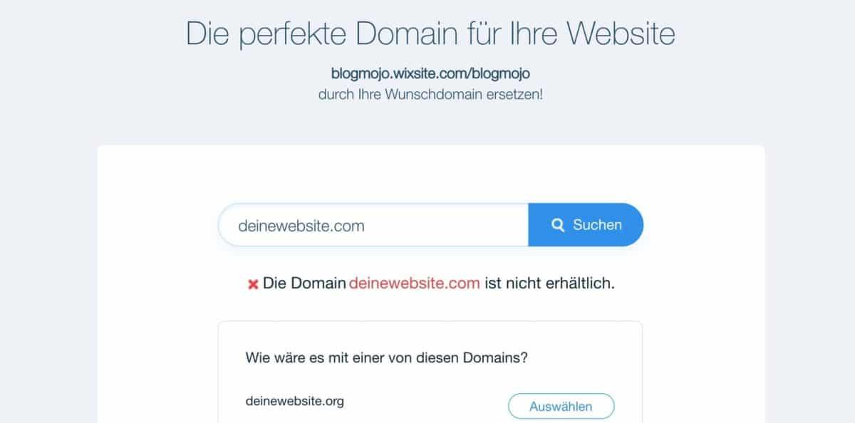 Domain-Verfügbarkeit prüfen