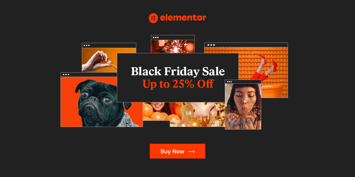 Elementor Black Friday Sale 2020