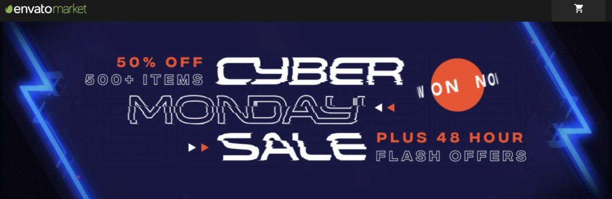 Cyber Monday Sale von Envato Market