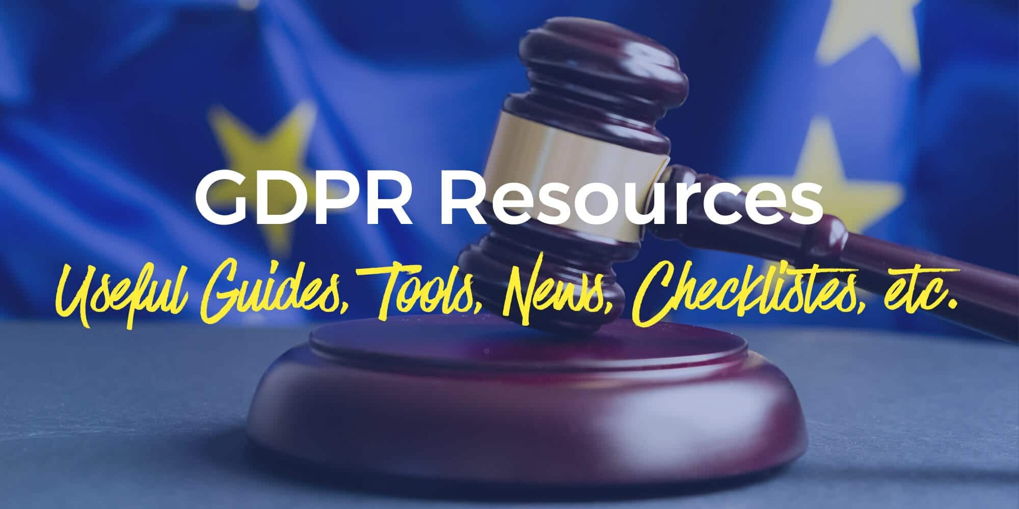 GDPR resources