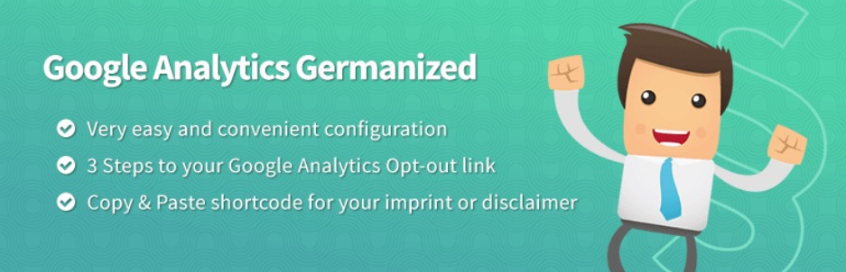 Google Analytics Germanized (GDPR / DSGVO)