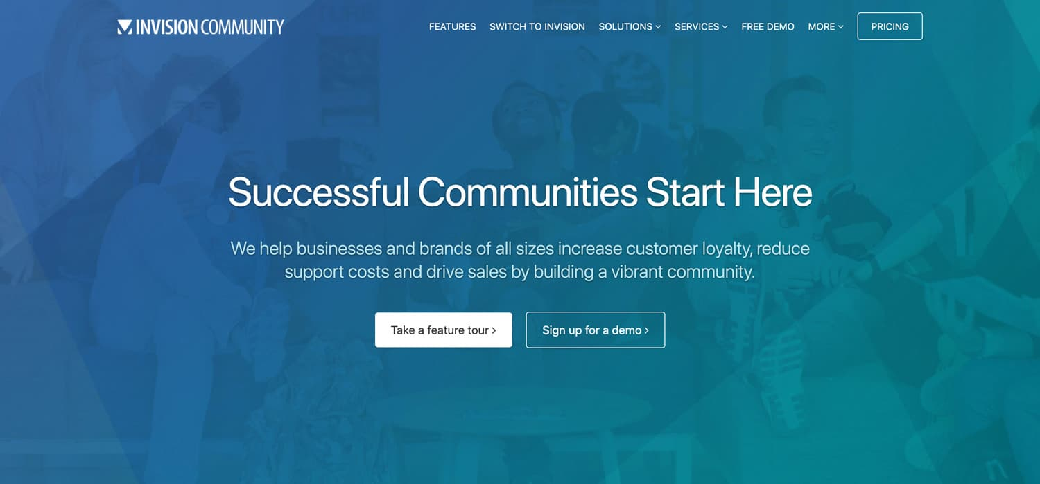 Invision Community Cloud Forumsoftware