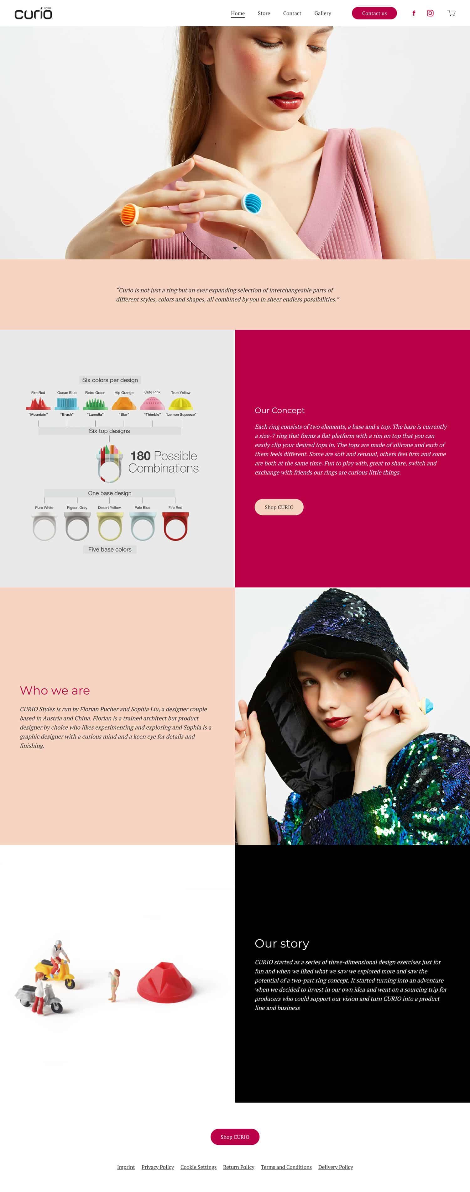 Mit Jimdo kannst du auch aufwendige Webseiten gestalten