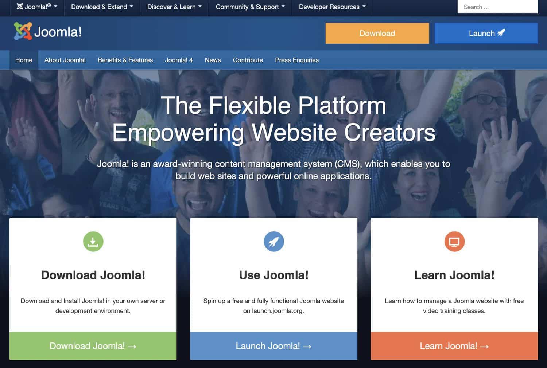 Joomla bietet dir ähnlich wie auch WordPress ein schlankes CMS mit vielen Einstellungsmöglichkeiten
