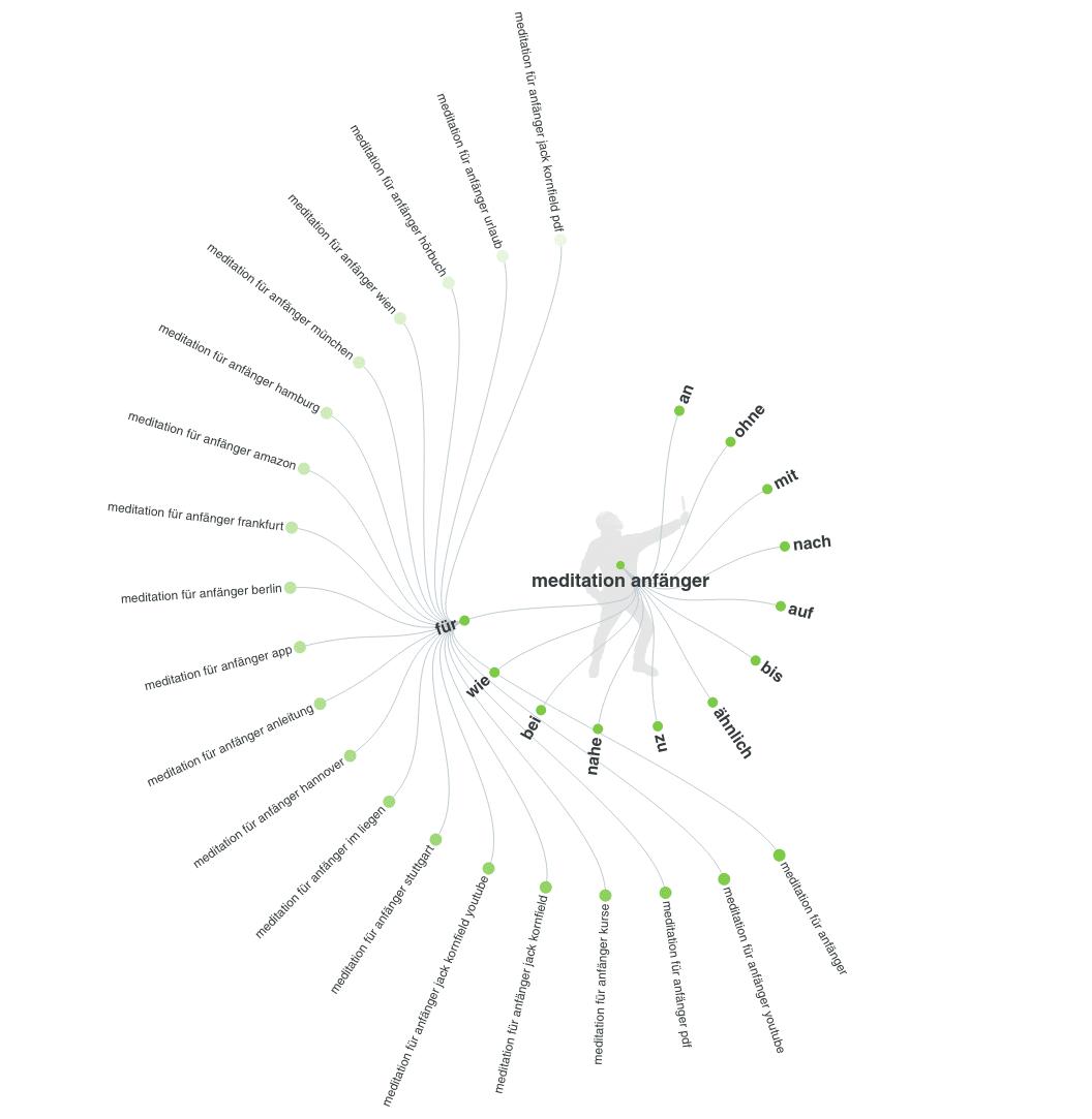 Analyse von Long-Tail-Keywords mit AnswerThePublic