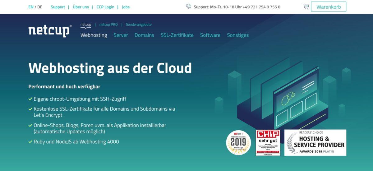 netcup Webhosting