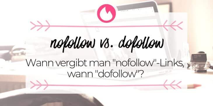 nofollow vs. dofollow