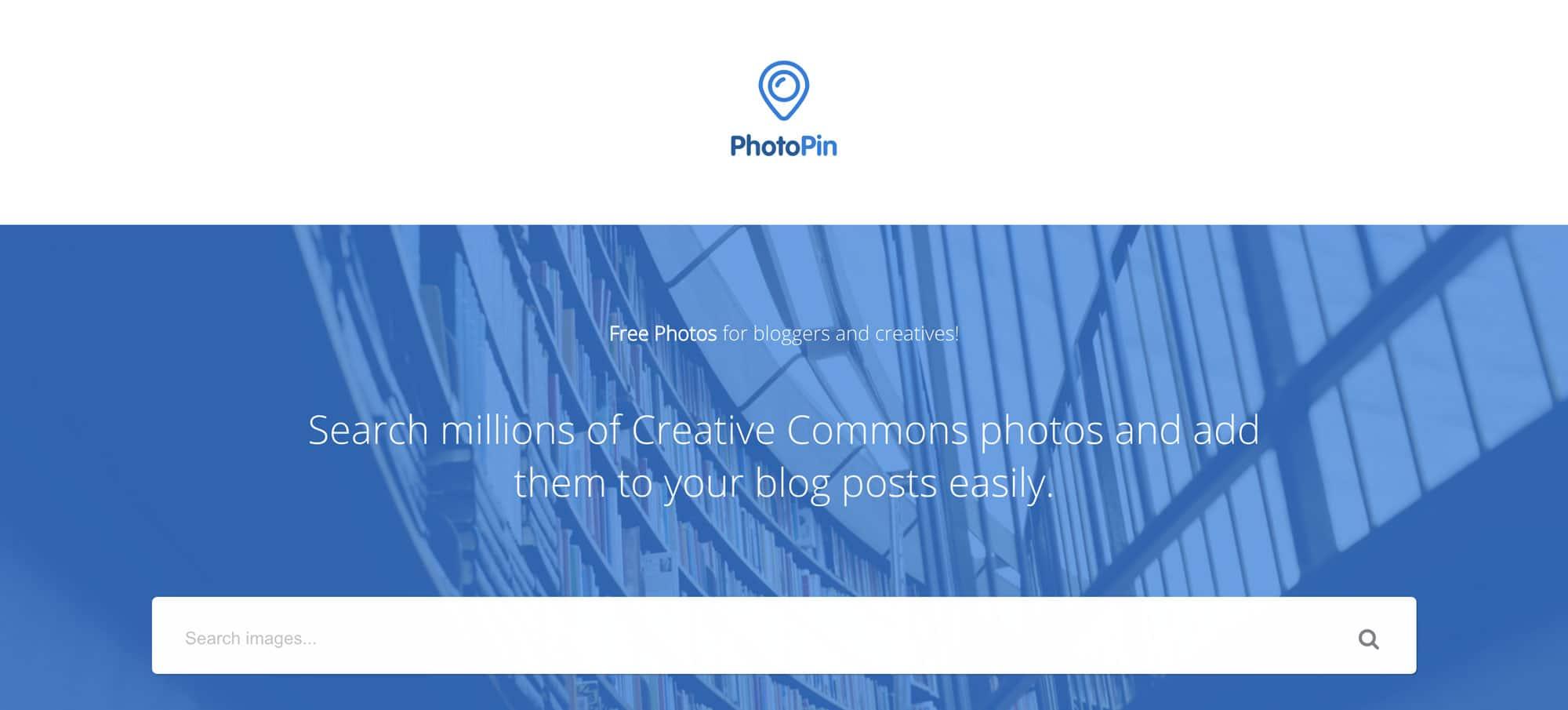 PhotoPin bietet eine gigantische Auswahl toller Bilder