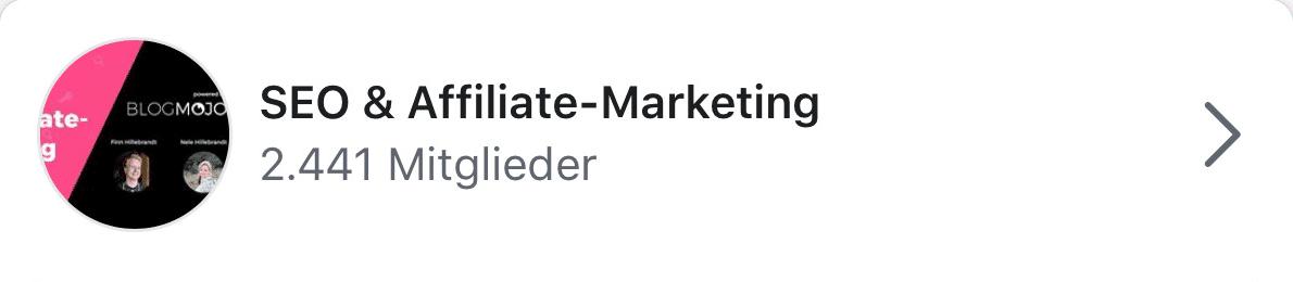SEO & Affiliate-Marketing