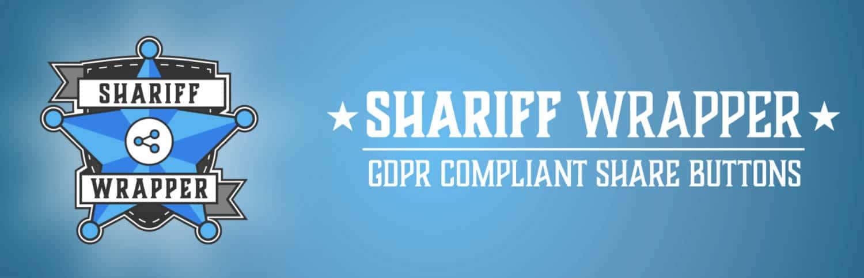 Shariff Wrapper ist ein deutsches Sharing-Plugin nach DSGVO Standard