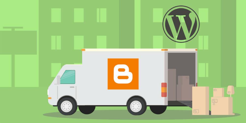 So kannst du in 7 Schritten von Blogger zu WordPress umziehen