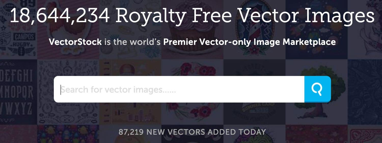 VectorStock bietet vor allem Vektoren und Illustrationen