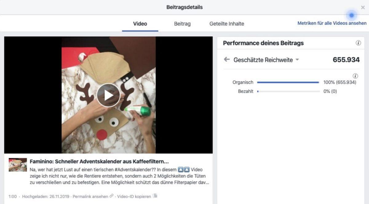 Virales Facebook-Video