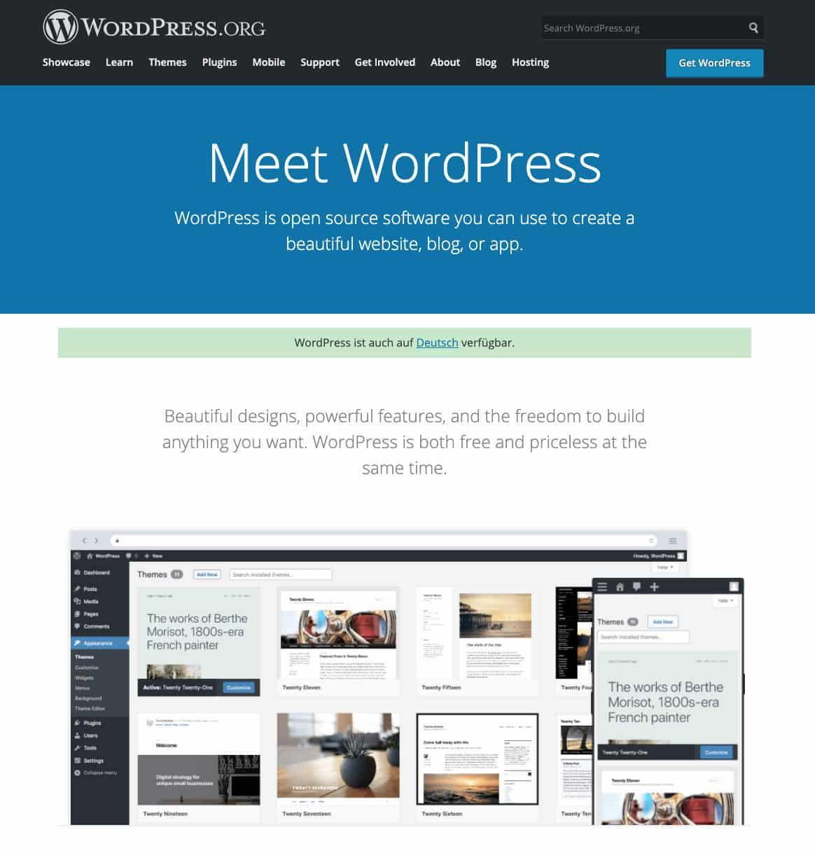 WordPress ist das Content-Management-System schlechthin, wenn es um die Erstellung einer Website geht.
