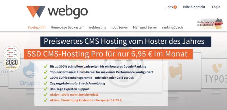 webgo CMS Pro SSD