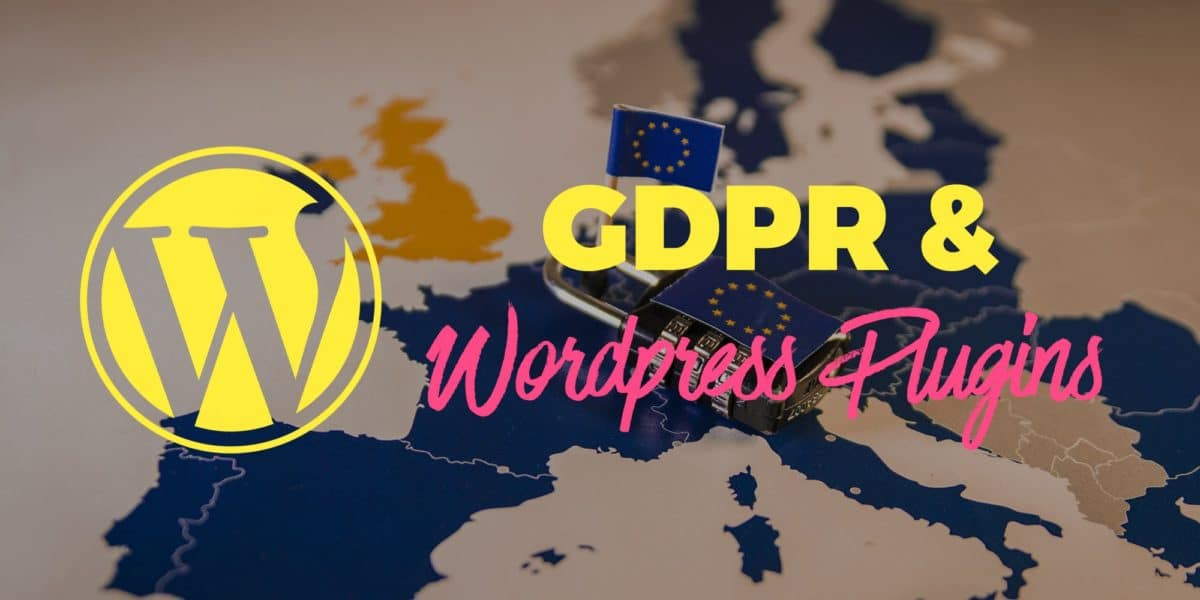 WordPress plugins & GDPR