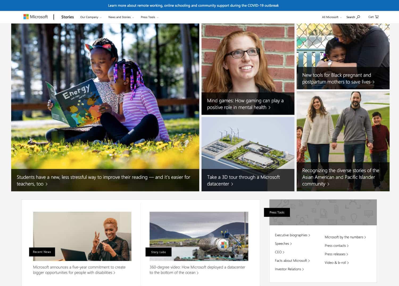 Microsoft setzt auf WordPress