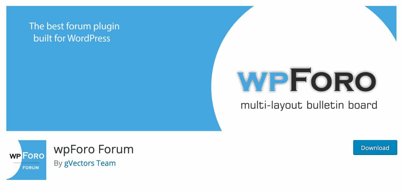 wpForo Forum ist ein simples aber effektives Plugin für WordPress
