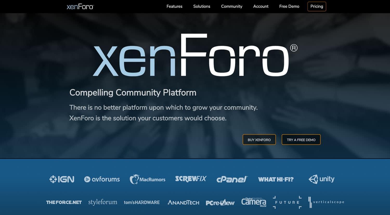 Die englischsprachige Forensoftware xenForo stellt soziales Engagement in den Mittelpunkt