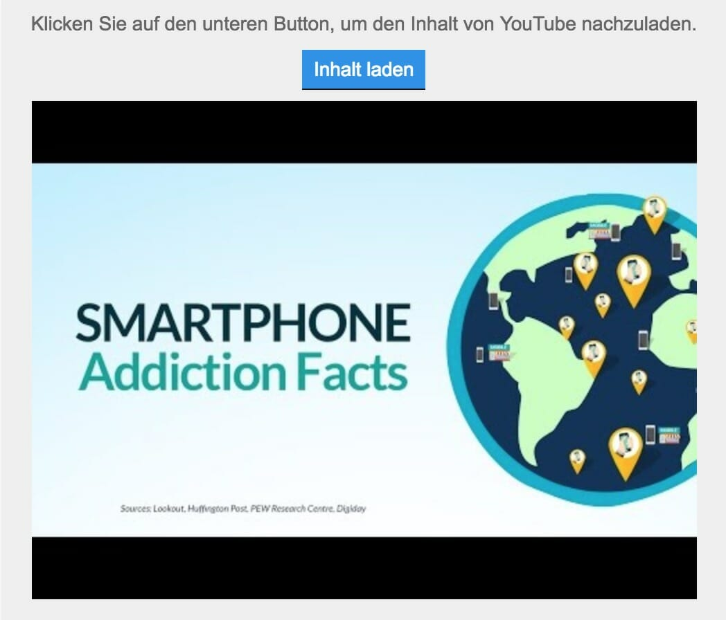 YouTube Video mit Borlabs Cookie